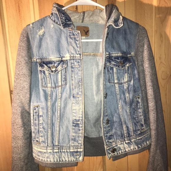 American Eagle Outfitters Jackets & Blazers - AMERICAN EAGLE JEAN JACKET